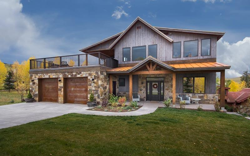 Home built by Colorado Building Systems